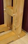 Wood Rack Close-Up